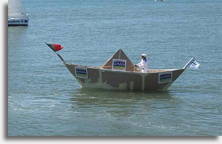 Maior Barco de Papel do Mundo